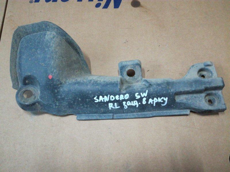 Защита датчика abs Renault Sandero Stepway задняя левая