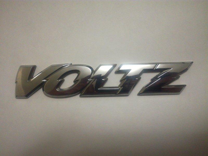 Эмблема Toyota Voltz ZZE136 1ZZFE