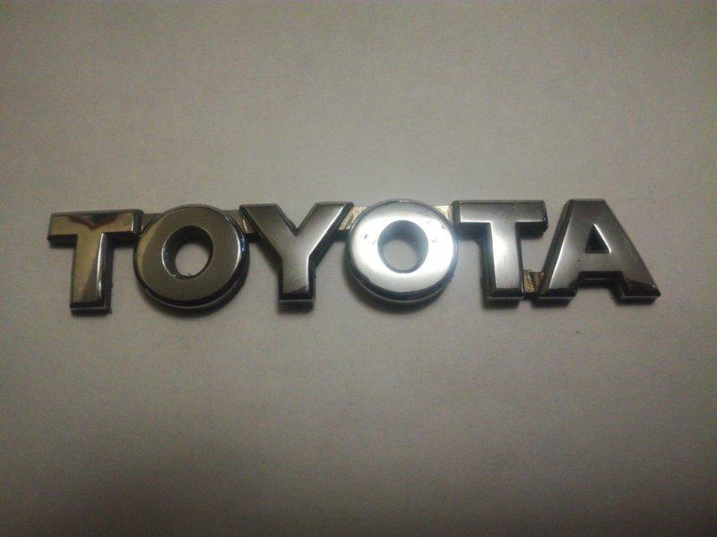 Эмблема Toyota Avensis ADT250 1ADFTV