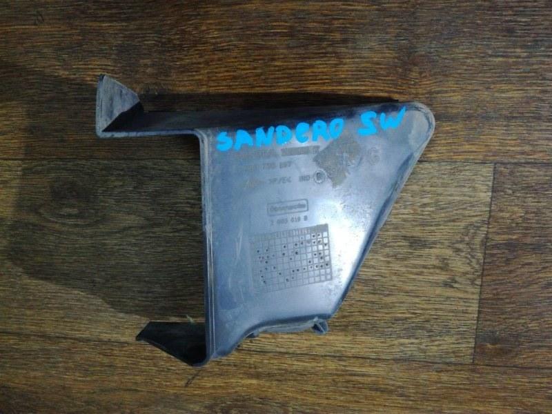 Дефлектор радиатора Renault Sandero Stepway D4D 2009 передний левый