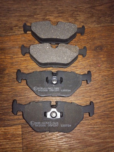 Тормозные колодки Bmw 3-Series E36/2 заднее