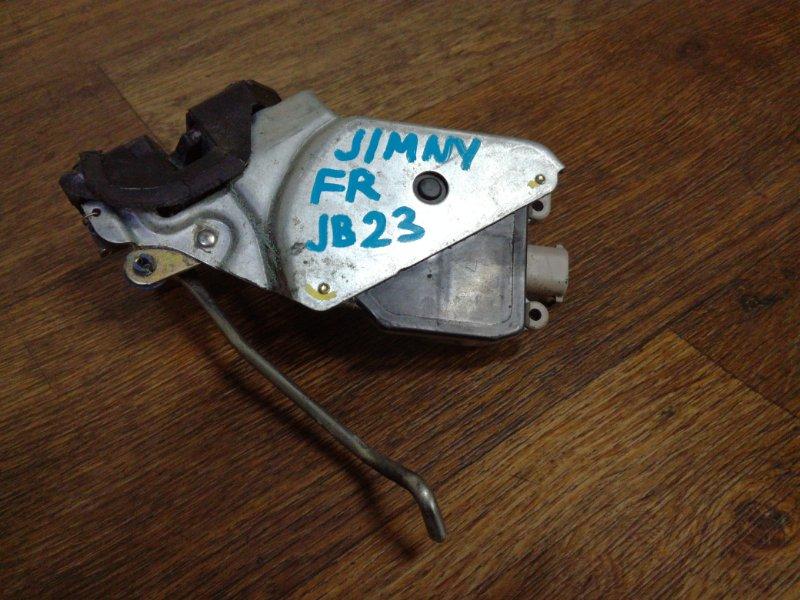 Замок двери Suzuki Jimny JB23W передний правый