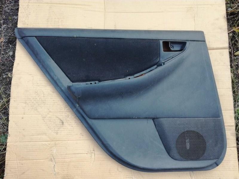 Обшивка двери Toyota Corolla Fielder CE121 1NZFE задняя левая