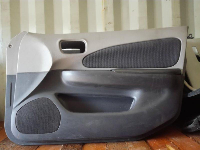 Обшивка двери Nissan Wingroad VGY11 2002 передняя правая