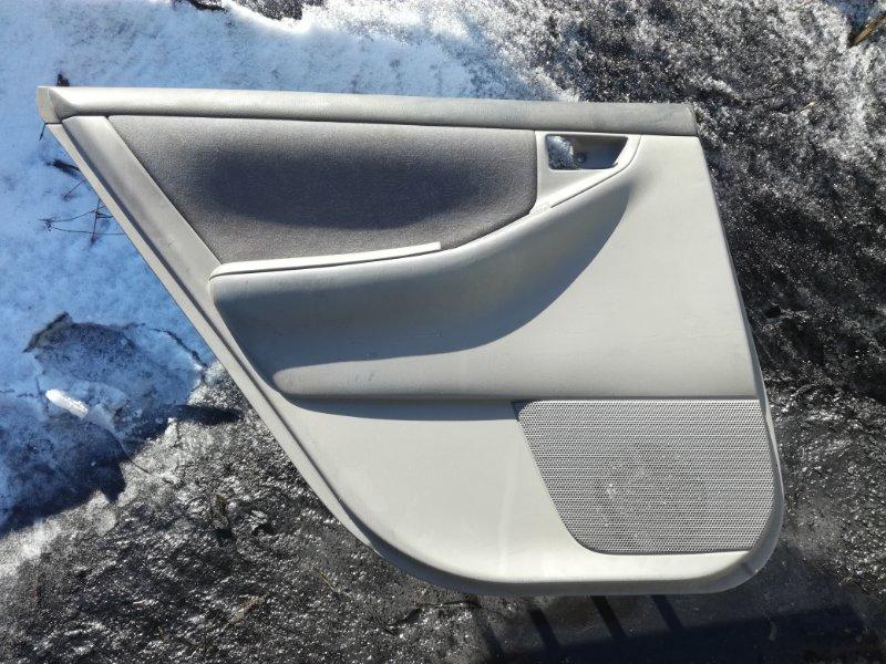 Обшивка двери Toyota Corolla CE121 1NZFE задняя левая