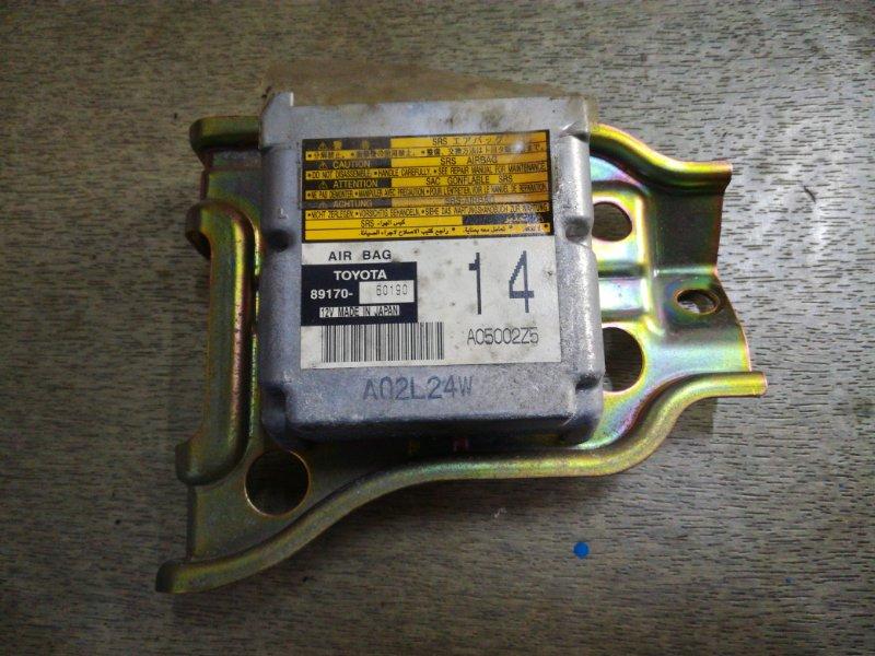 Блок управления airbag Toyota Land Cruiser HDJ101 1HDFTE