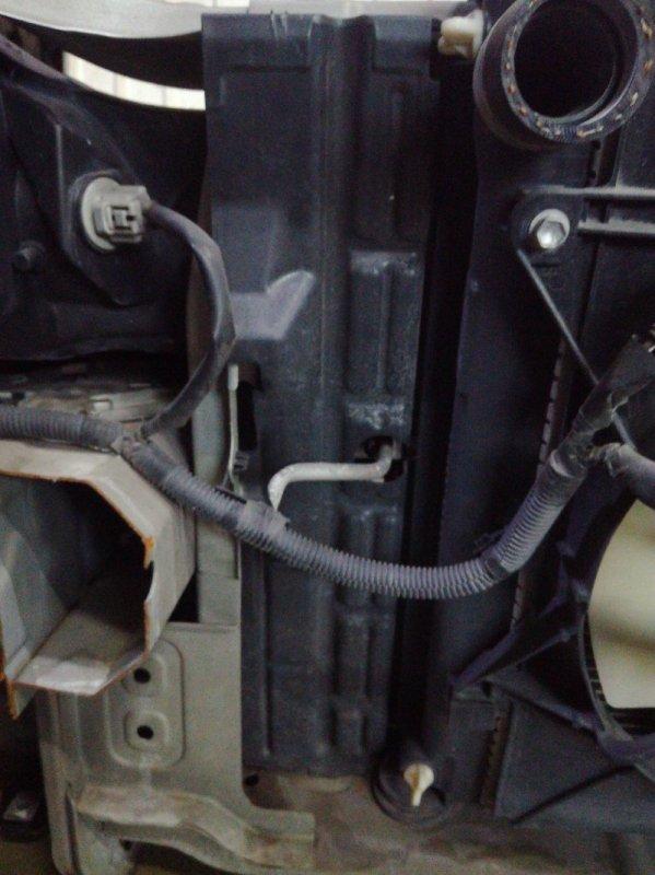 Защита радиатора Toyota Allion AZT240 1AZFSE передняя