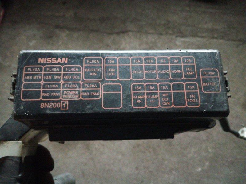 Блок предохранителей Nissan Sunny B15 QG15DE