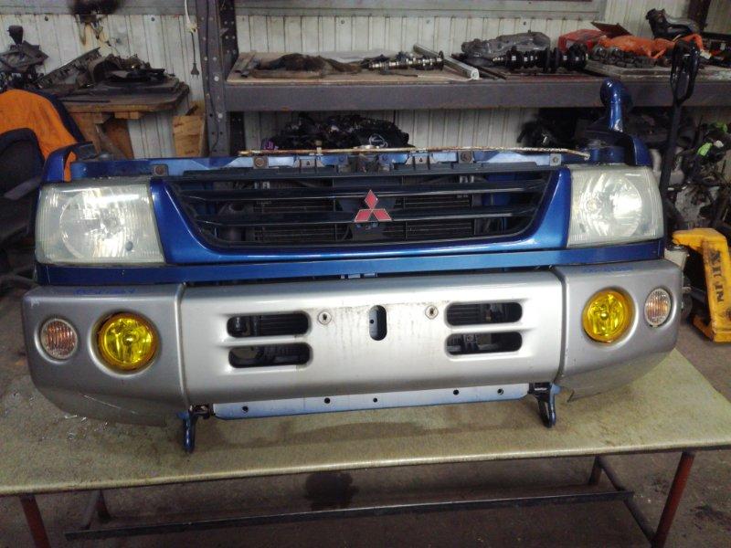 Планка под фары Mitsubishi Pajero Mini H58A 4A30 передняя