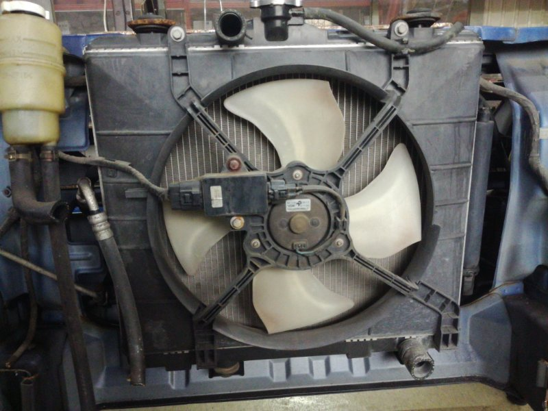 Радиатор двс Mitsubishi Pajero Mini H53A 4A30