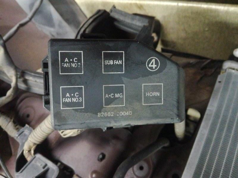 Блок реле Toyota Carina Ed ST180 3SFE