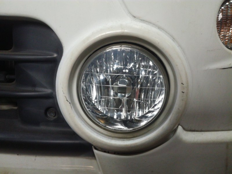 Фара противотуманная Daihatsu Terios J100G передняя левая