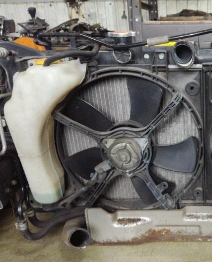 Вентилятор радиатора Subaru Impreza GD2 EJ152 левый