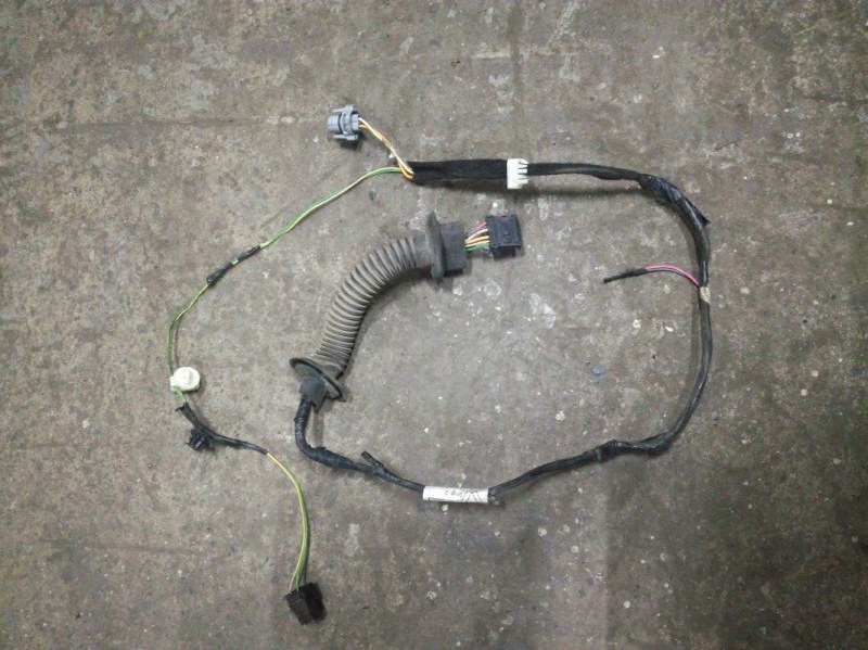 Проводка двери Renault Sandero Stepway BS11 K4M 2009 задняя