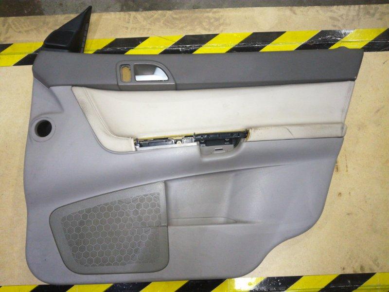 Обшивка двери Volvo S40 MW20 B4164S3 2004 передняя правая