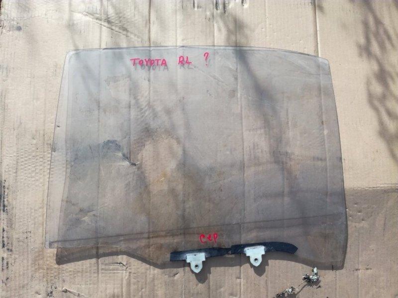 Стекло двери Toyota Carina E AT190 2C 1992 заднее левое