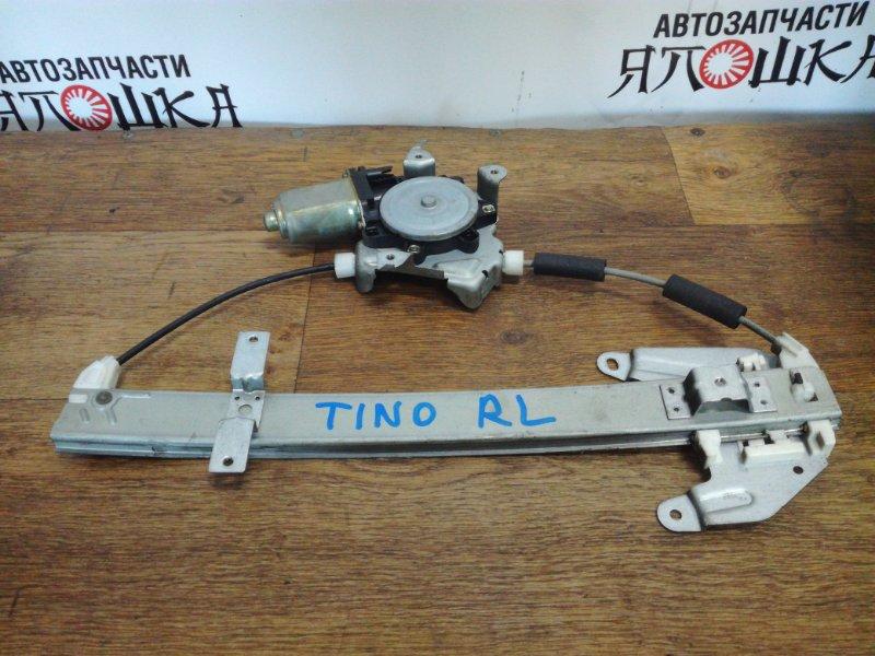 Стеклоподъемник Nissan Tino HV10 QG18DE задний левый