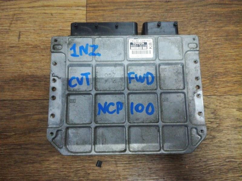 Блок управления двигателя Toyota Ractis NCP100 1NZFE
