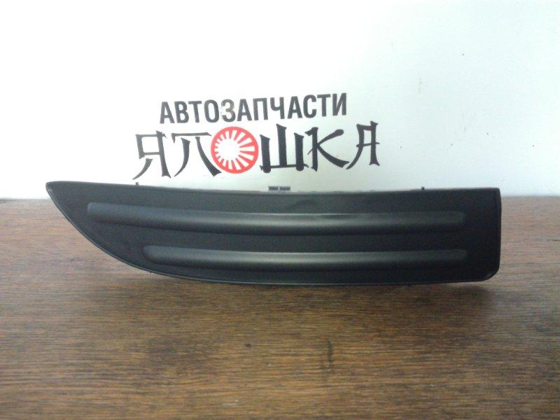 Заглушка бампера Toyota Allex NZE121 1NZFE передняя правая