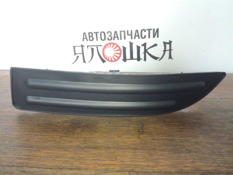 Заглушка бампера Toyota Allex NZE121 1NZFE передняя левая