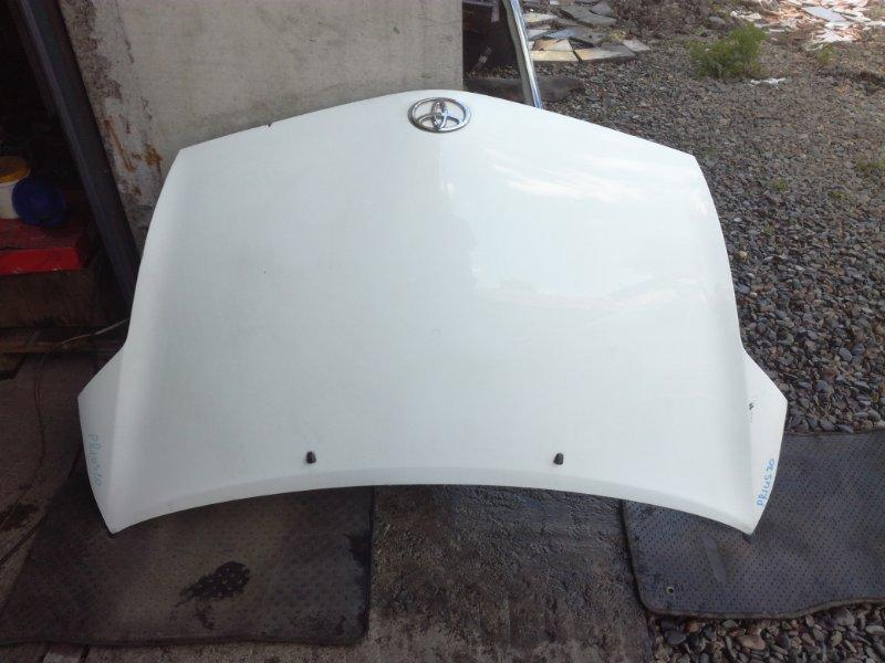 Капот Toyota Prius NHW20 1NZFXE