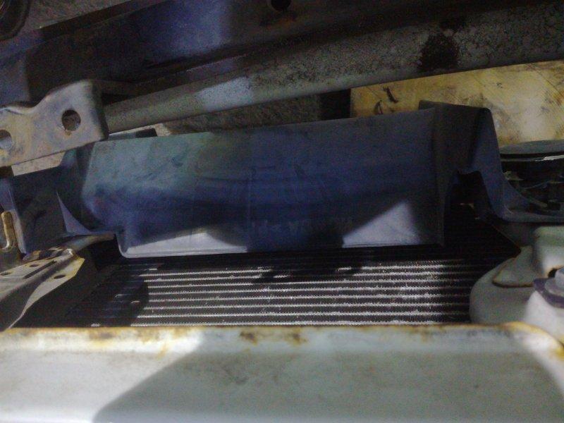 Кожух радиатора Honda Partner EY8 D16A