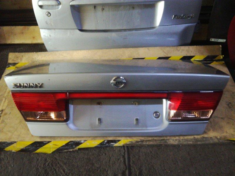 Крышка багажника Nissan Sunny B15 QG13DE