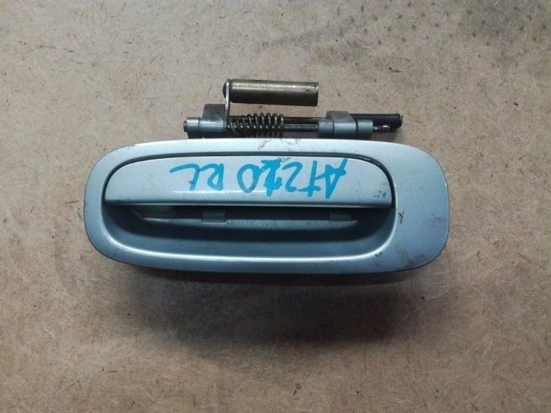 Ручка двери внешняя Toyota Caldina AT210 2CT задняя левая