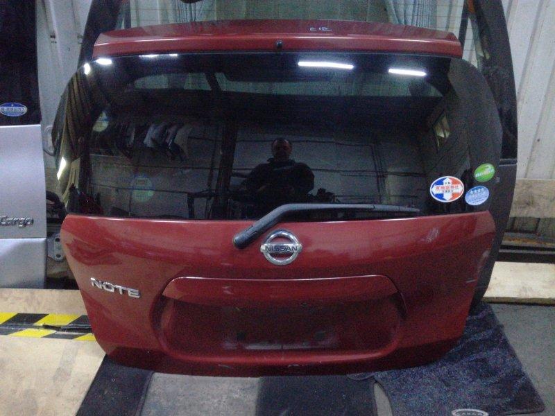 Дверь 5-я Nissan Note NE12 задняя