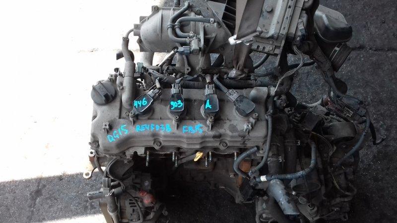 Двигатель Nissan Ad FB15 QG15DE