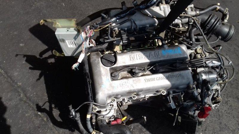 Двигатель Nissan Bluebird EU14 SR18DE