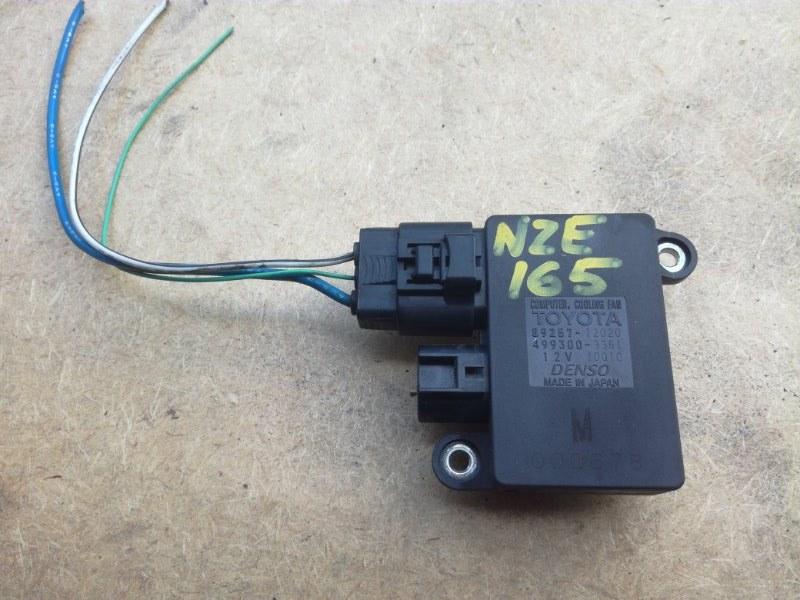 Блок управления вентиляторами Toyota Alphard AYH30 3UZFE