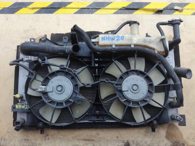 Радиатор двс Toyota Prius NHW20 1NZFXE