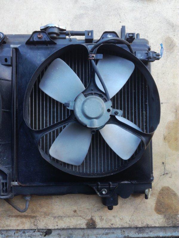 Вентилятор радиатора Toyota Caldina AT211 4AFE правый