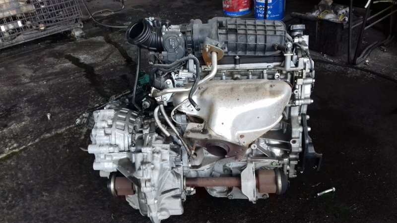 Двигатель Nissan Bluebird Sylphy G11 MR20DE