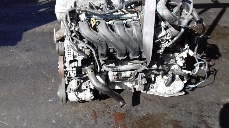 Акпп Toyota Trezia NCP120X 1NZFE