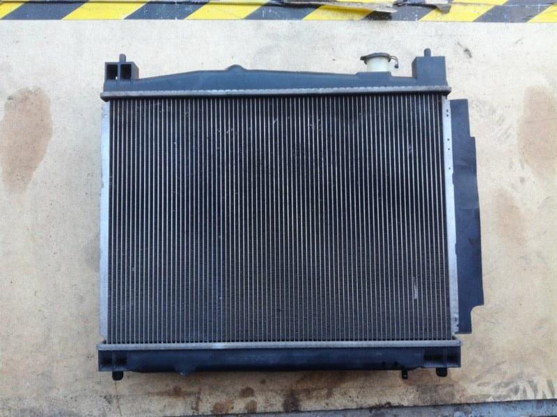 Радиатор двс Toyota Sienta NCP81 1NZFE