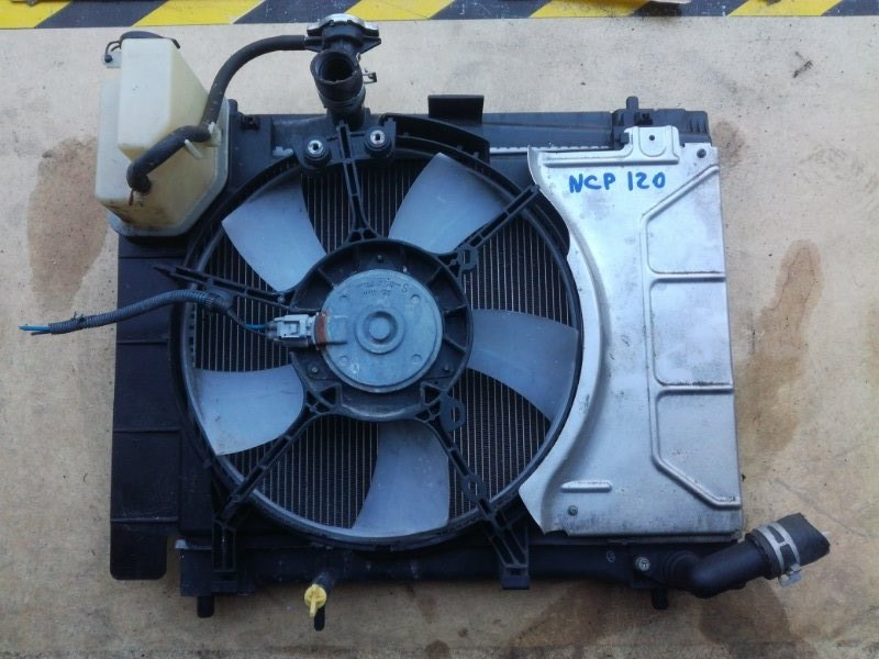 Вентилятор радиатора Toyota Belta NCP96 1NZFE