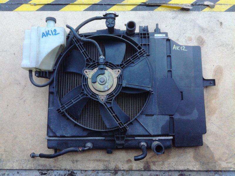 Вентилятор радиатора Nissan Cube Cubic BGZ11 CR14DE