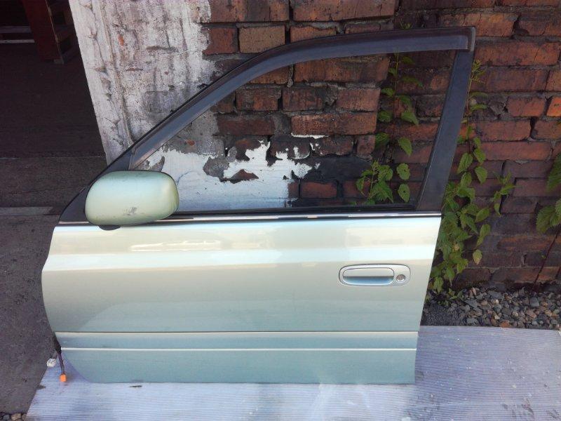 Дверь Toyota Carina AT210 2CT передняя левая