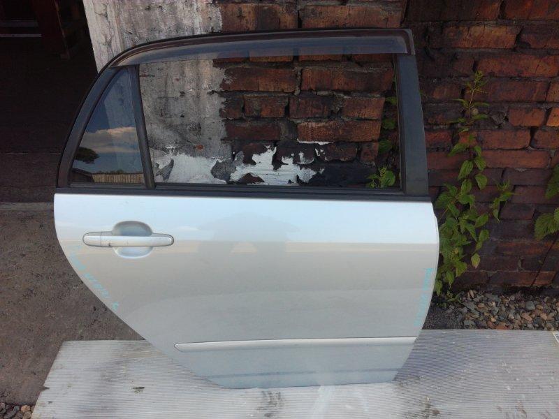 Дверь Toyota Allex NZE121 1NZFE задняя правая