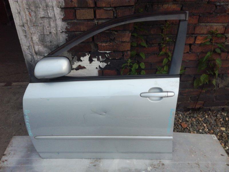 Дверь Toyota Allex NZE121 1NZFE передняя левая