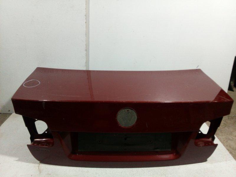 Крышка багажника Volkswagen Jetta 5 1K 2006 1K5827025AN (б/у)