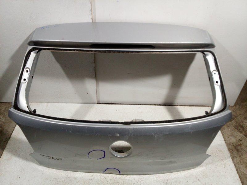 Дверь багажника Volkswagen Polo MK5 2009 6R6827025C (б/у)