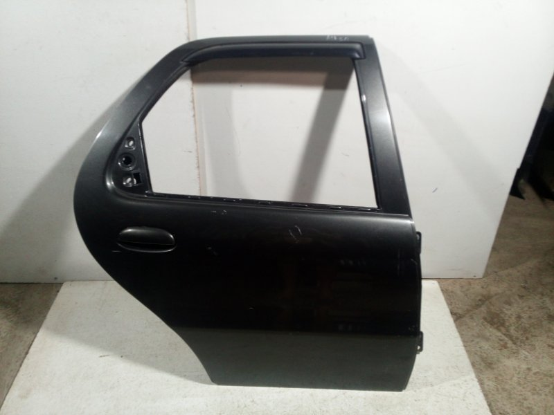Дверь Fiat Albea 2002 задняя правая 51759953 (б/у)