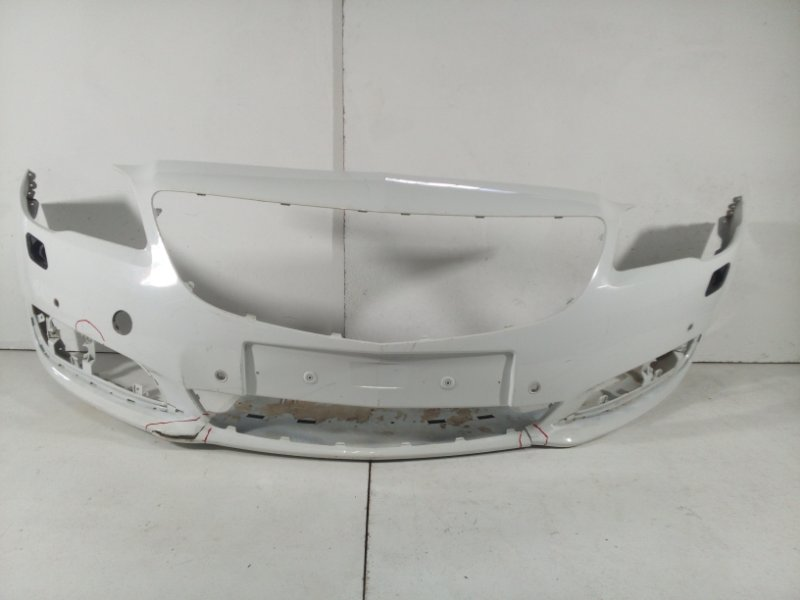 Бампер передний Opel Insignia 0G-A 2008 передний 13238286 (б/у)