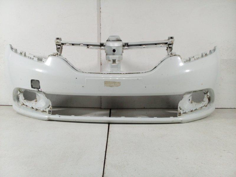 Бампер передний Renault Logan 2 L8 2014 620228143R (б/у)