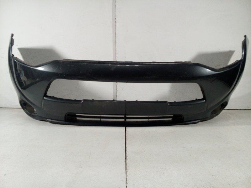 Бампер передний Mitsubishi Outlander 3 GF 2012 передний 6400F634 (б/у)