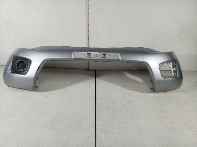 Бампер передний Mitsubishi L200 KB4T 2010 передний 6400F902 (б/у)