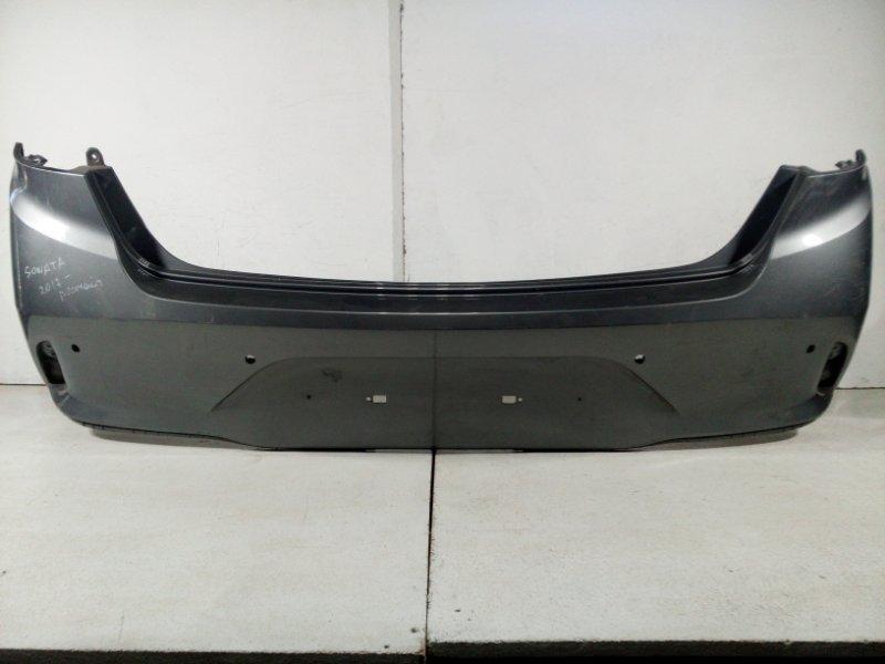 Бампер задний Hyundai Sonata 7 LF 2017> задний 86610C1730 (б/у)